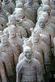 Guerrieri di terracotta Immagine Stock Libera da Diritti
