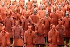 Guerrieri di terracotta Immagini Stock Libere da Diritti