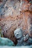 Guerrieri di terracotta di Qin immagine stock