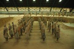Guerrieri di terracotta, Xi'an Fotografia Stock Libera da Diritti