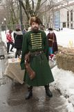 Guerrieri in Russia - Kozak Fotografia Stock Libera da Diritti