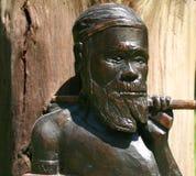 Guerriero aborigeno Immagini Stock