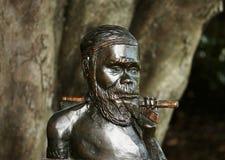 Guerriero aborigeno Immagini Stock Libere da Diritti