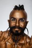 Guerriero arabo 4 dell'oro potente del fronte Fotografia Stock