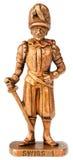 Guerriero con la statuetta della spada Fotografia Stock