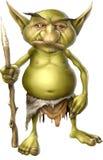 Guerriero del Goblin Immagini Stock Libere da Diritti