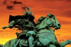 Guerriero del samurai Immagine Stock