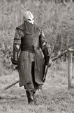 Guerriero del Vichingo (B&W). Fotografie Stock Libere da Diritti