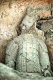 Guerriero dell'argilla Immagini Stock Libere da Diritti