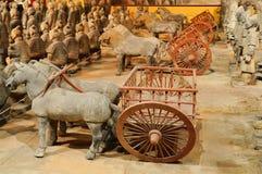 Guerriero della tomba (esercito di terracotta) Fotografia Stock Libera da Diritti