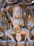 Guerriero di Angkor Fotografia Stock