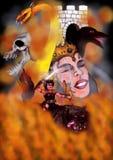 Guerriero di pene dell'inferno (quattro elementi, 2010) Fotografia Stock