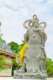 Guerriero di pietra in Tailandia Fotografia Stock