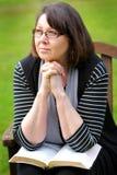 Guerriero di preghiera Fotografie Stock Libere da Diritti