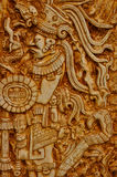 Guerriero indiano Mayan Fotografie Stock