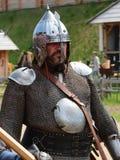 Guerriero medievale - cavaliere ricco di Kievan Rus Immagini Stock