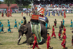 Guerriero tailandese Fotografie Stock Libere da Diritti