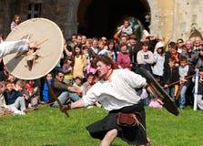 Guerriers écossais Image libre de droits