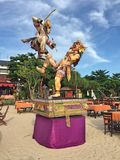 Guerriers de Bali Images libres de droits