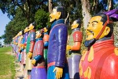Guerriers de terre cuite Image libre de droits
