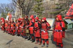 Guerriers samouraïs Photographie stock libre de droits