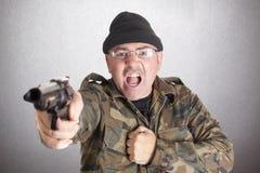 Guerrilla crazy Stock Images