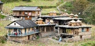 Guerrilla trek - Tatopani village - western Nepal Stock Image