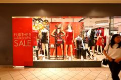 GUESS Apparel Store at Ngee Ann City Royalty Free Stock Image
