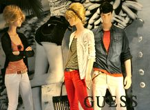 Guess fashion store in Italy Stock Photo