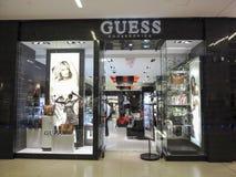 GUESS shop Royalty Free Stock Photo
