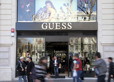 Guess store Stock Photos