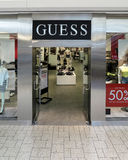 Guess store Royalty Free Stock Photography