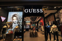 GUESS store Stock Photo
