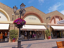 Guess Store In Rome, Italy. Royalty Free Stock Image