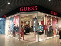 Guess  store Stock Photography