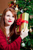 Guessing the Gift Royalty Free Stock Photo