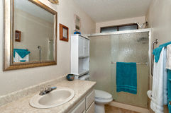 Guest bathroom #2 Royalty Free Stock Photos