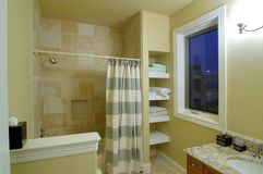 Guest bathroom3 Royalty Free Stock Images