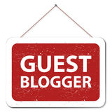 Guest blogger Royalty Free Stock Images