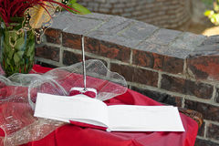 Guest Book Stock Image