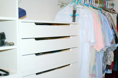 Guest closet. Royalty Free Stock Photo