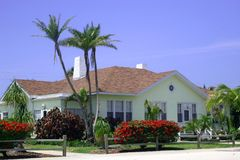 Guest Cottage in Tropics stock image