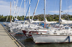 Guest harbour Birka Royalty Free Stock Photo