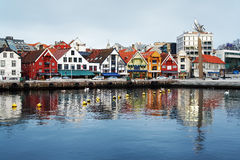 Guest harbour of Stavanger, Norway Stock Photography