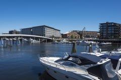 Guest harbour Tavern Trondheim Stock Photo