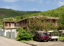 A guest house in the caribbean Stock Image