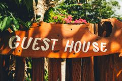 Guest house in Hawaii Stock Photography