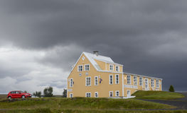 Guest house, Iceland Stock Image