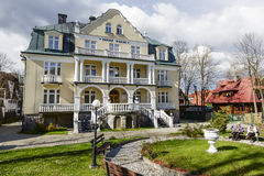Guest House Jasny Palac in Zakopane Stock Images
