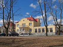 The guest house in Kaliningrad, Russia Royalty Free Stock Image